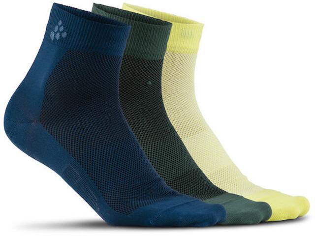 Craft Greatness Mid Socks 3-Pack nox/shore